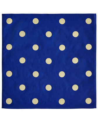 Bordered Placemats & Polka Dot Napkins