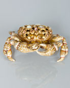 Gavin Bejeweled Crab Box