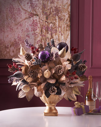 Sugarplum Chic Centerpiece