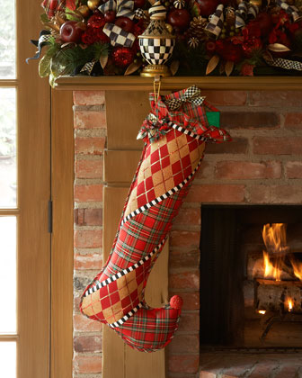 Gala Christmas Stocking