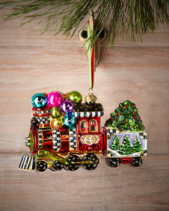 Wonderland Express Christmas Ornament