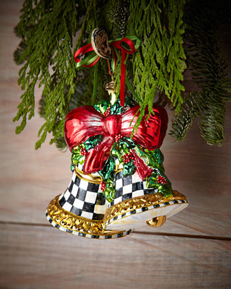 Noel Bells Christmas Ornament