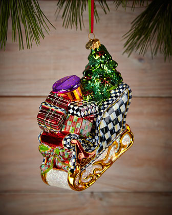 St. Nick's Sleigh Christmas Ornament