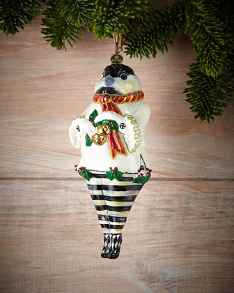 Chicken Palace Ball Christmas Ornaments