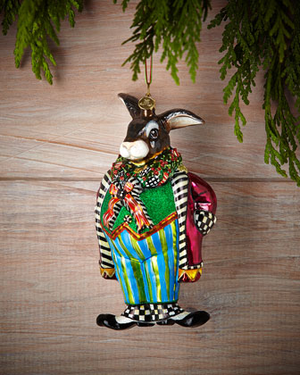 Bunny O' Hare Christmas Ornament