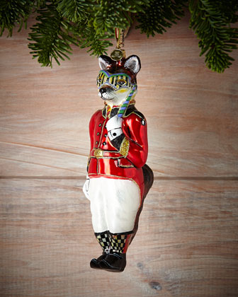 Sly Foxworthy Christmas Ornament