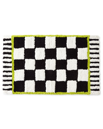 Courtly Check?? & Flower Market Bath Mats