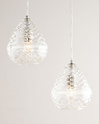 Bethany Cut-Glass Pendant Light