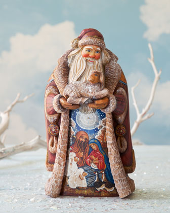 Nativity Journey Santa