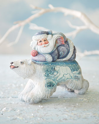 Polar Surprise Santa Box