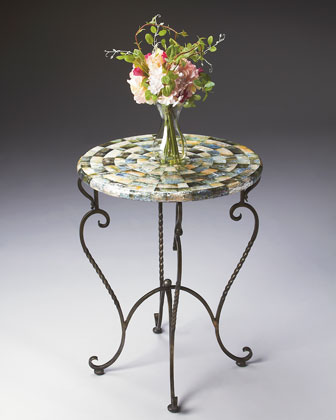 Abalone Accent Table