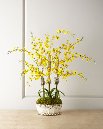 Faux Oncidium Orchids