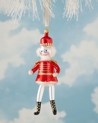 Nutcracker Suite Glass Christmas Ornaments