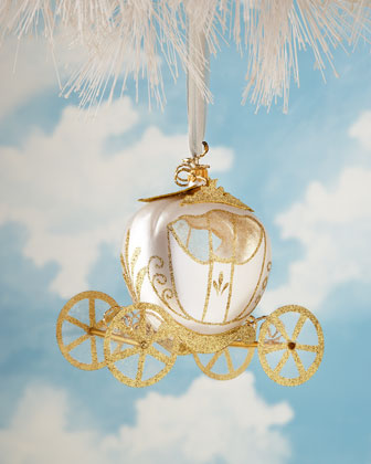 Fairytale Princess Glass Christmas Ornaments