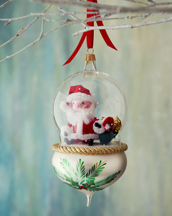 Globe Christmas Ornaments