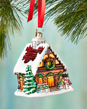 Warm and Cozy Christmas Ornament