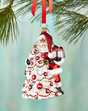 Red Splendor Christmas Ornament