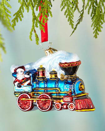 Winter Express Christmas Ornament