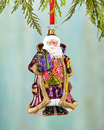 Siberian Nicolai Christmas Ornament