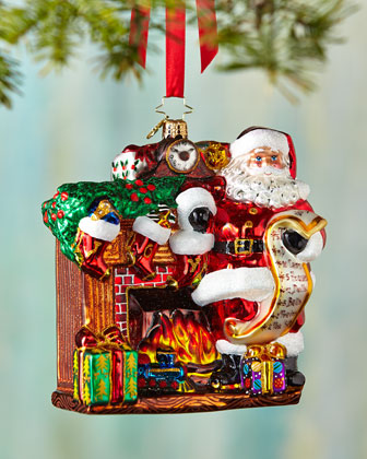 Joyful Visit Christmas Ornament