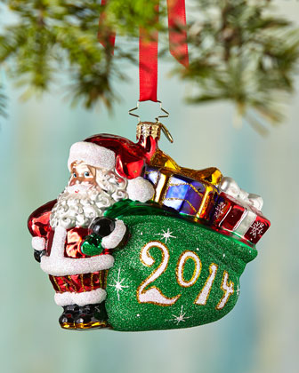 A Jolly Year Christmas Ornament
