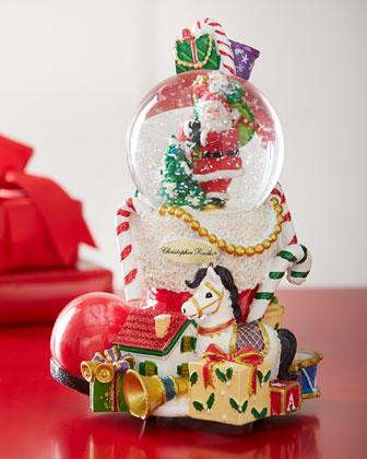 Santa's Bootful Bounty Snowglobe