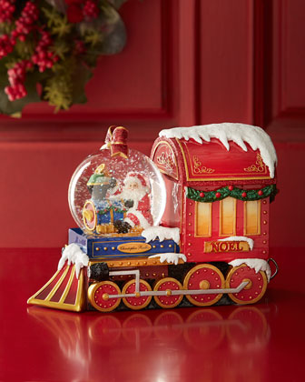 Santa Express Snowglobe