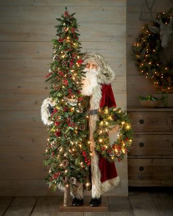 Tuscan Holiday Santa