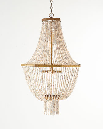 Kismet Four-Light Beaded Chandelier
