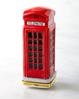 Telephone Box Bonbonniere
