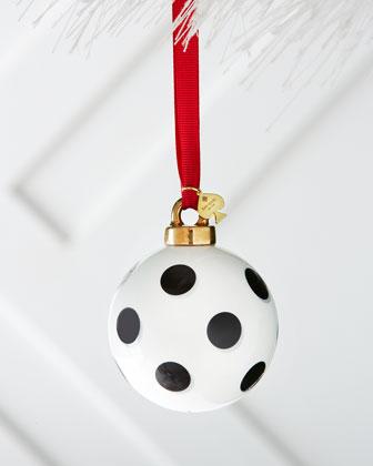 Spots Christmas Ornament