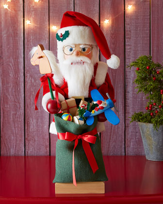 Nutcracker Santa with Toys