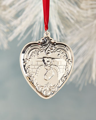 Grande Baroque 2014 Heart Christmas Ornament