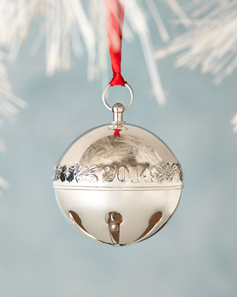 2014 Silver-Plated Sleigh Bell