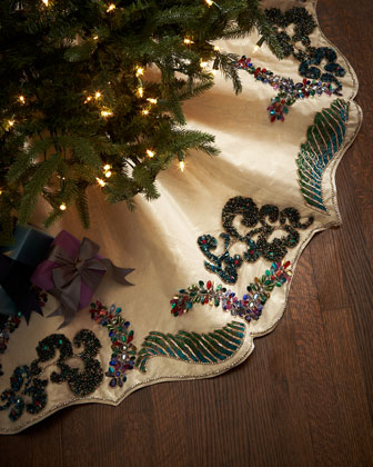Masquerade Tree Skirt