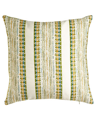 Avrille Striped Pillow