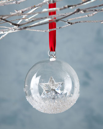 2014 Annual Crystal Ball Christmas Ornament