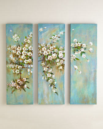 Summer Blooms Wall Panels