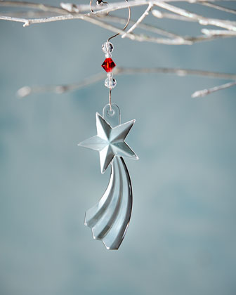 2014 Shooting Star Christmas Ornament