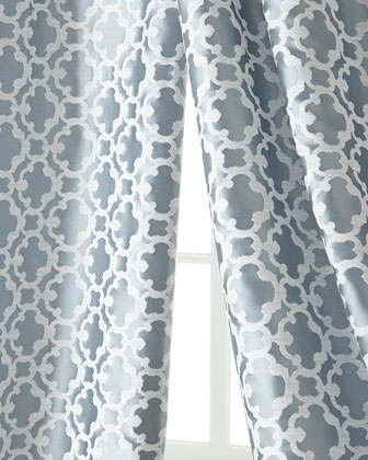 Softline Home Fashions Palisade Tile Curtains