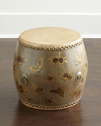 Vintage Wooden Drum