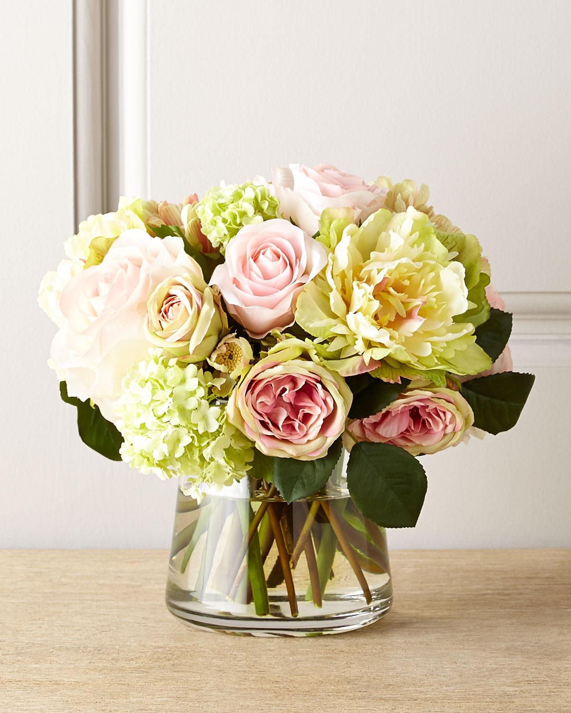 Pastel Passion Faux Floral, Multi Colors - Neiman Marcus