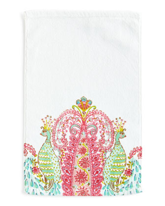 Peacock Towels
