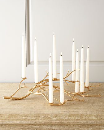 Gold Twig Centerpiece