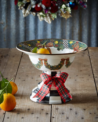Evergreen Large Compote