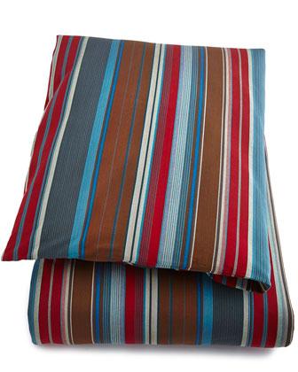 King Chalet Stripe Duvet Cover