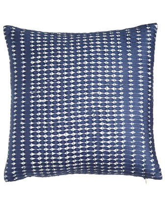 Nantucket Blue-and-White Pillows