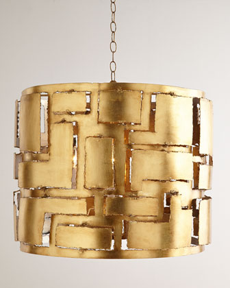 Braxton Iron Pendant Light