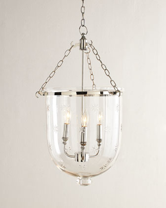 Dannica Etched Pendant Light