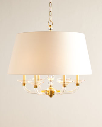 Juliana Six-Light Stacked-Ball Chandelier